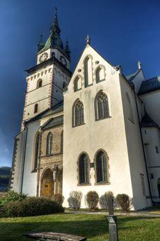 Free Church Of St. Katerina, Kremnica, Slovakia Royalty Free Stock Image - 17322006