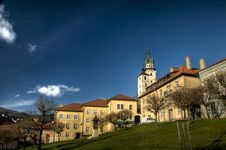 Free The Main Square Of City Kremnica, Slovakia Royalty Free Stock Photo - 17322085