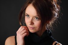 Free Woman Portrait Royalty Free Stock Photography - 17322327