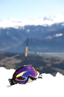 Free Snowboard Mask Stock Photography - 17322512