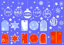 Price Tags. Vector. Royalty Free Stock Images