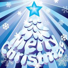 Free Christmas Tree. Stock Photography - 17323382