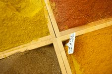 Free Spice Market Display Stock Images - 17323704