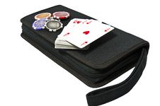 Free Bag For Poker Royalty Free Stock Image - 17323756
