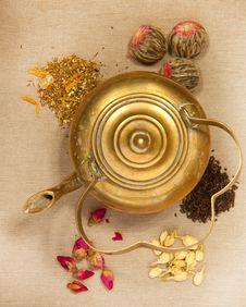 Free Old Teapot Stock Image - 17324471