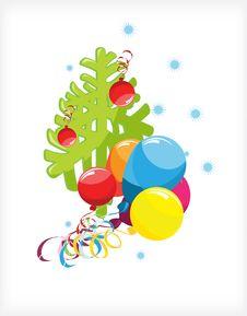 Free Christmas Tree Balls Stock Image - 17324581