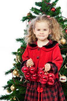 Free Christmas Girls Stock Photography - 17325552
