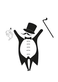 Free Magician With Rabbit Royalty Free Stock Photography - 17325917