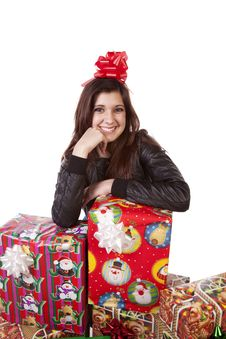 Free Presents Bow Stock Image - 17326351