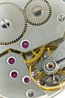 Free Clockworks With Gears Stock Photo - 17326380