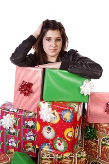 Free Serious Gifts Stock Photo - 17326420
