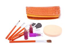 Free Make-up Tools Royalty Free Stock Images - 17326429