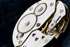 Free Clockworks With Gears Royalty Free Stock Photos - 17326448