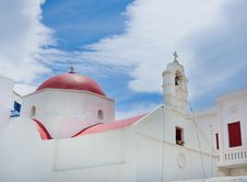 Free The Famous Church  In Mykonos Stock Photos - 17326713
