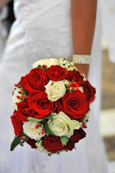 Free Bridal Bouquet Royalty Free Stock Photos - 17326788