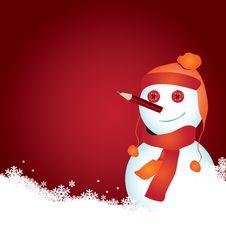 Free Snowman Royalty Free Stock Photos - 17326898