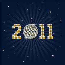 Free New Year Celebration Disco Ball Stock Image - 17327661