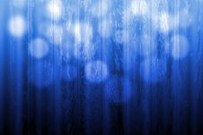 Free Blue Defoced Light Over A Wood Texture Royalty Free Stock Images - 17327909
