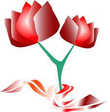 Free Flower Of A Red Rose Stock Image - 17328111
