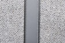 Grey Rough Fabric Stock Images