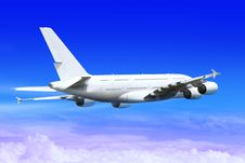 Free Landing Big Plane Royalty Free Stock Photography - 17328277