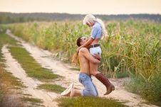 Free Portrait Of Love Couple Stock Photo - 17328330