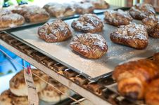 Free Almond Croissant Stock Photography - 17328432
