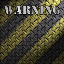 Free Warning Construction Background Royalty Free Stock Photos - 17328848