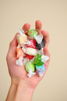 Free Saltwater Taffy Royalty Free Stock Images - 17328869