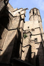 Free Barcelona.Fragment Of A Gothic Cathedral. Stock Images - 17337714