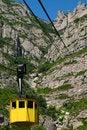 Free Cable Car Lift At Montserrat Royalty Free Stock Photography - 17339437