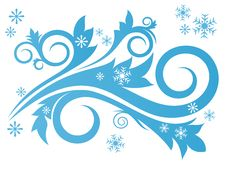 Free Winter Design Stock Image - 17330861