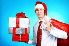 Free Business Christmas Royalty Free Stock Image - 17330956