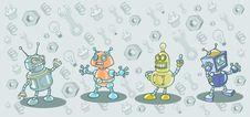 Free Robots Stock Photo - 17331120