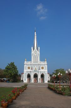 Free Church Of Christianity In Thailand Stock Photography - 17331212