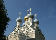 Church Of St. Nicholas In Pyzhah (1670),Moscow Stock Images