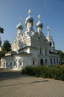 Church Of St. Nicholas In Pyzhah (1670),Moscow Royalty Free Stock Images