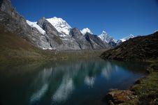 Free Huayhuash Lake Stock Photography - 17331982