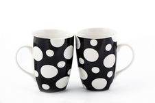 Free Two Dot Cups Royalty Free Stock Images - 17332109