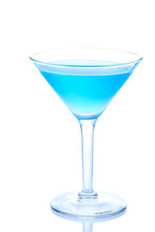 Free Classic Blue Cocktail Stock Photos - 17332693
