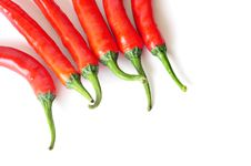 Free Red Chili Peppers Stock Image - 17334121
