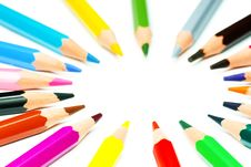 Free Crayon Circle Royalty Free Stock Image - 17334306