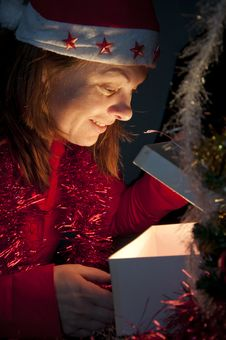 Free Christmas Surprise Stock Photo - 17334720