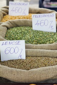 Free Lentil And Other Seeds Stock Image - 17335061