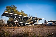 Free Old Airfield Two Royalty Free Stock Images - 17335629