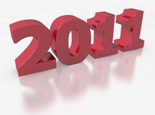 Free 2011 For The New Year Stock Image - 17336431