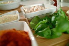 Free Basil Curry And Garlic - Mediterranean Taste Stock Photo - 17336860