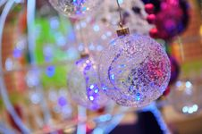Free Glass Christmas Balls Stock Photo - 17336920
