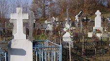 Orthodox Graveyard Stock Image