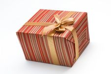 Free Christmas Gift Box Royalty Free Stock Photo - 17337085